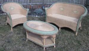Gartenmöbel aus Rattan (privat)